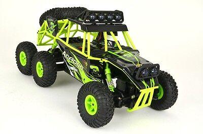 RC Rock Crawler 1:18 Monster Truck 6x6 Allradantrieb WL-Toys 2.4 Ghz RTR Offroad