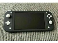 Nintendo Switch Lite 32GB Grey Excellent condition *Warranty*