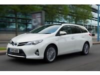 TOYOTA AURIS HYBRID FOR RENT FOR £130 A WEEK