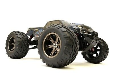 RC Auto Monster Truck Challenger Turbo 1:12, 2.4Ghz, 40+ Km/H -Blau