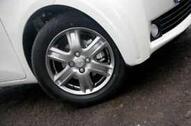 Toyota genuine IQ upgraded alloys 4 with good tyres