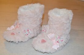 M&S new girl slippers, size 6