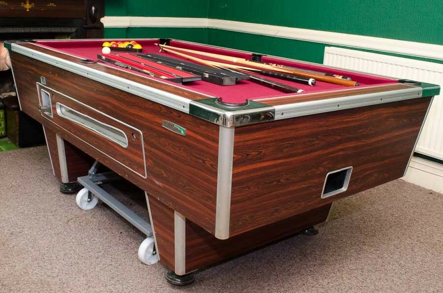 POOL TABLE Slate X With Customised Wheels So Easy To Move - How to move a slate pool table