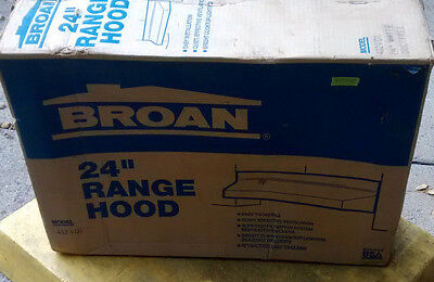 BROAN 412401 Hood  Duct Free  24 inches White