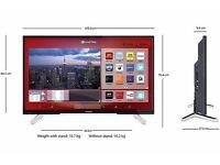"""Hitachi 4K 48"""" Ultra HD Smart LED TV"""