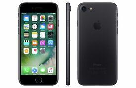 IPHONE 7 32GB BLACK MATTE - BRAND NEW & SEALED - UNLOCKED