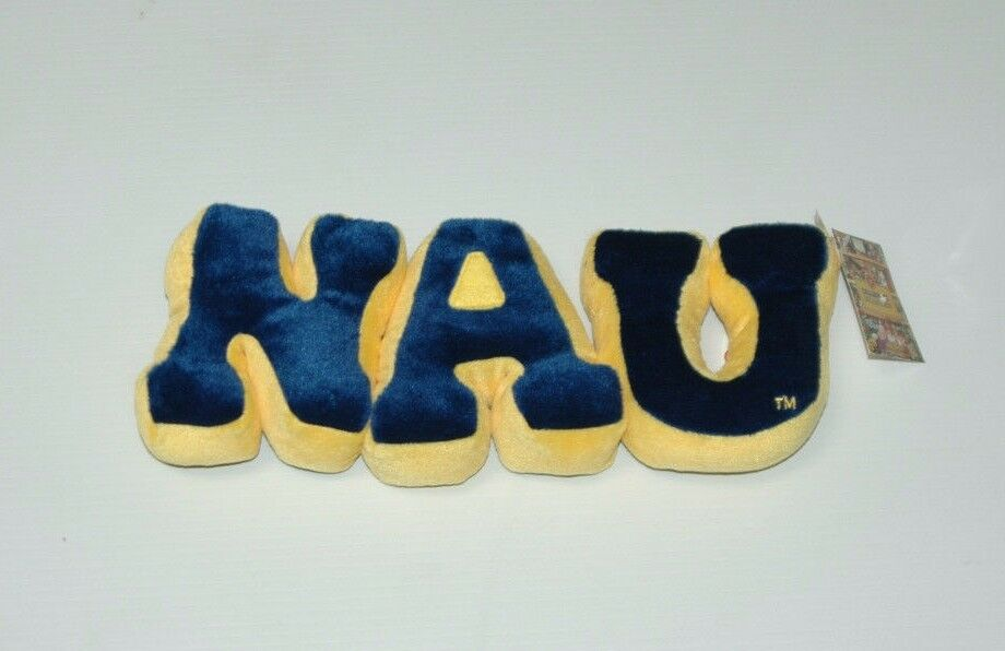 NORTHERN ARIZONA UNIVERSITY LUMBERJACKS PLUSH SPIRIT NAME -