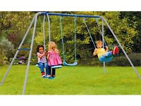 Chad Valley Multiplay - 2 Swings and Fun Glider