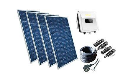 1080Watt Solaranlage Photovoltaikanlage Plug & Play Komplett Set