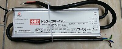 New Mean Well Power Supply Led Driver Hlg-120h-42b Outdoor Dimming