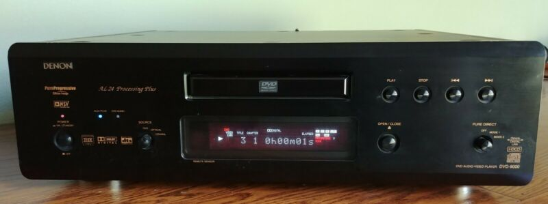 Denon DVD-9000 DVD/CD/DVD-Audio Player
