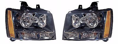 FOR CHEVY TAHOE 2007 2008 2009 2010 2011 2012 2013 2014 HEADLIGHT RIGHT & LEFT