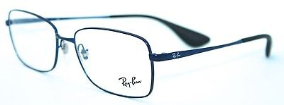 RAY-BAN RB6336 2510 55/16 New BLUE Authentic MEN Designer EYEGLASS Frame w/ CASE