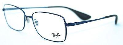 RAY-BAN RB6336 2510 55/16 New BLUE Authentic MEN Designer EYEGLASS Frame w/ CASE