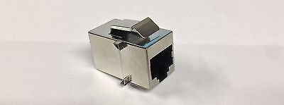 Regal Electronics Shielded In-Line Coupler M1026KS-8C-MM-R 8 Contacts RJ45 NOS Shielded In Line Coupler