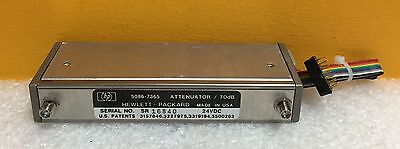 Hpagilent 5086-7365 Dc To 22 Ghz Sma Programmable Step Attenuator Cable