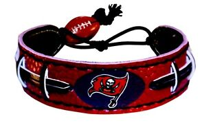 Official NFL Leather Football Bracelet Team Color Choose Your Team
