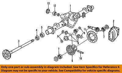 GM OEM Rear-Axle Seals 19180849