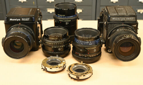 Mamiya RB67 RZ67 Lens and Body REPAIR SERVICE EVALUATION
