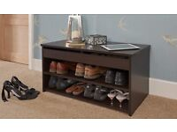 SHOE CABINET, ONLY £39! MINIMALIST, STORAGE, 4 COLOURS, CHEAP, BARGAIN, HOME DELIVERY AVAILABLE!