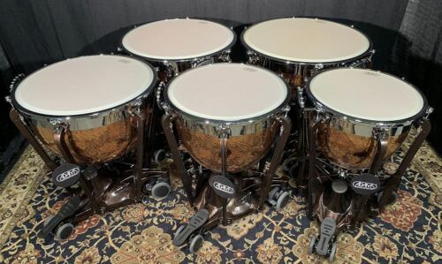 "ADAMS Professional Gen II Timpani 5-Set of:20"", 23"",26"",29"",32"" - FREE SHIPPING"