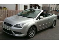2008 2 litre diesel ford focus push button convertable in immaculate condition inside and out