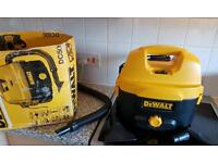 Dewalt cordless wet &dry vac 2 batteries and charger also dewalt radio