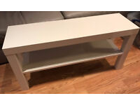 WHITE TV Stand / Slim Coffee Table / Bench / Side Table