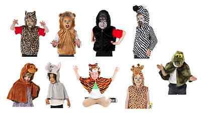 Animal Zoo Jungle fancy dress BNWT Lion Monkey Croc Tiger Zebra Giraffe Costume  (Jungle Dress Up Costumes)
