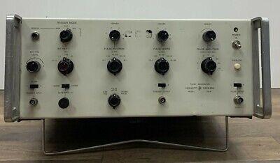 Hp Pulse Generator - Model 214a