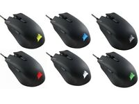 Corsair Harpoon RGB Optical Gaming Mouse 6,000 DPI , 6 Programmable Buttons, RGB Multicolor