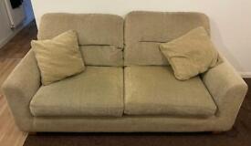 3 Seater & 2 Seater Sofa & cushions