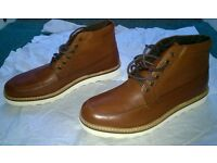 Brand new brown mens boots size10