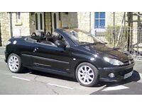 Peugeot 206 cc ,bargin £450