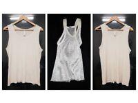 Used Mens Medium Plain White Vests   3 available   St Bernard   Amir   Cotton   Athletic   Leeds