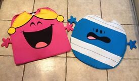 ** World Book Day 2 March ** Costumes Mr Bump (3-5 years) and Little Miss Chatterbox (One Size)
