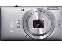 New Boxed Cannon IXUS 132 Digital Compact Camera Silver 16Mp Was: £99.99