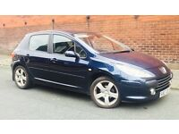 PEUGEOT 307 1.6 SPORT - WARRANTY AVAILABLE- FREE DELIVERY