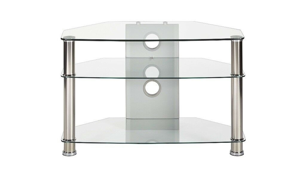*NEW and boxed* TTAP Vantage 800 TV Stand - Chrome