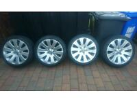 """Insignia 19"""" alloy wheels and tyres 245/40r19 ( Cookstown )"""