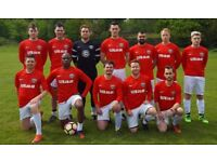FOOTBALL TEAMS LOOKING FOR PLAYERS, 2 MIDFIELDERS NEEDED FOR SOUTH LONDON FOOTBALL TEAM: JK22