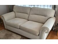 3 Seater Sofa, 2 Chairs, 2 Footstools