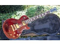 Stunning 2004 Gibson Les Paul Standard, Wine Red With Gold Hardware & OHC