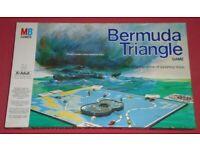 Vintage 'Bermuda Triangle' Board Game