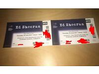 Ed sheeran tickets standing x2 120 pounds