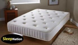 Double memory foam orthopaedic mattress sale £69.99