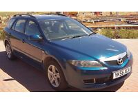 MAZDA6 2.0 TD TS2 5dr, Blue, Estate 2006, Manual 6 Speed