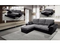SALE PRICE SOFAS**BRAND NEW GIANI CORNER SOFA BED **AVAILABLE IN 2 COLOURS **UK DELIVERY **