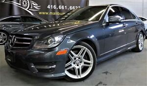 2014 Mercedes-Benz C-Class C350 4MATIC NAVOGATION, PANORAMIC ROO