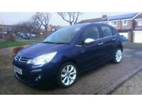 Citroen c3 1.2 selection 64 plate
